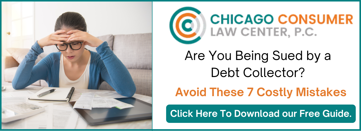Debt Collection Lawsuit Law Firm Chicago